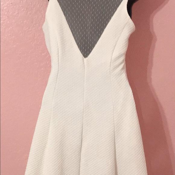 Monteau Dresses & Skirts - White stretchy dress